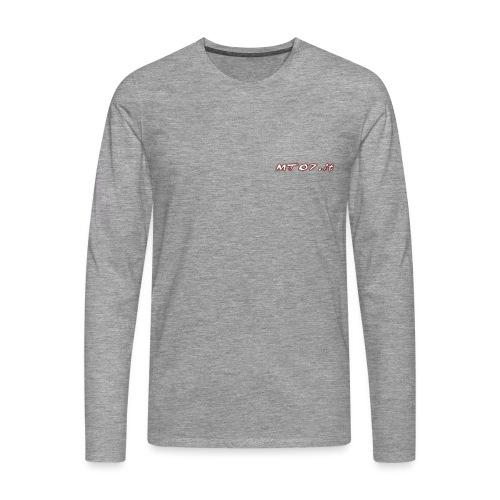 mt07 png - Maglietta Premium a manica lunga da uomo