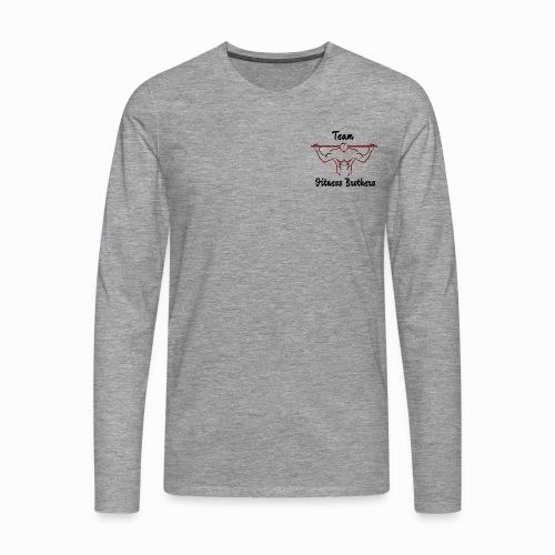TFB HODDIE png - Långärmad premium-T-shirt herr