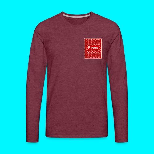 FIVES patch - T-shirt manches longues Premium Homme