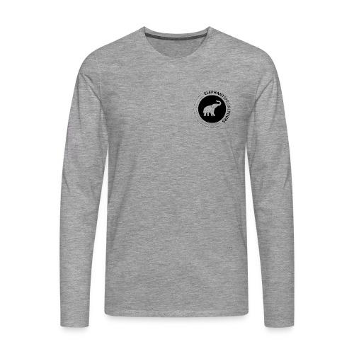 EST-Logo - Männer Premium Langarmshirt