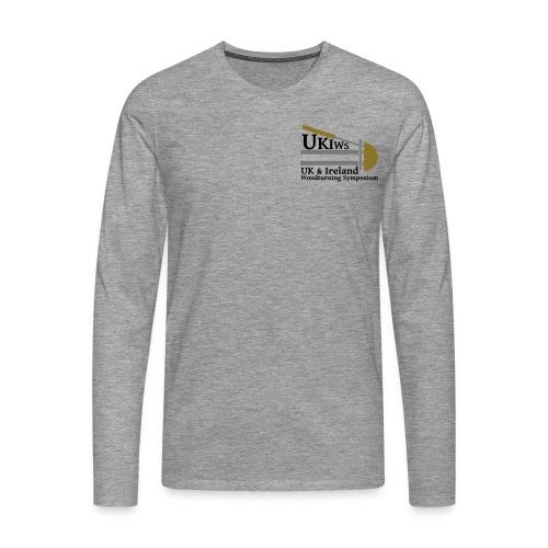 SMALL- NoDate -UKIWS-Logo - Men's Premium Longsleeve Shirt