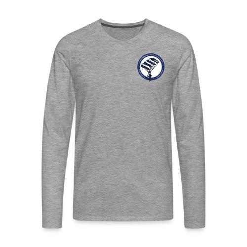 ØFK logo png - Herre premium T-shirt med lange ærmer