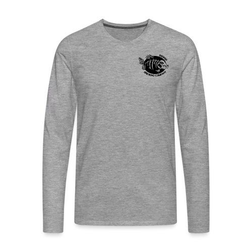 Double logo double - T-shirt manches longues Premium Homme
