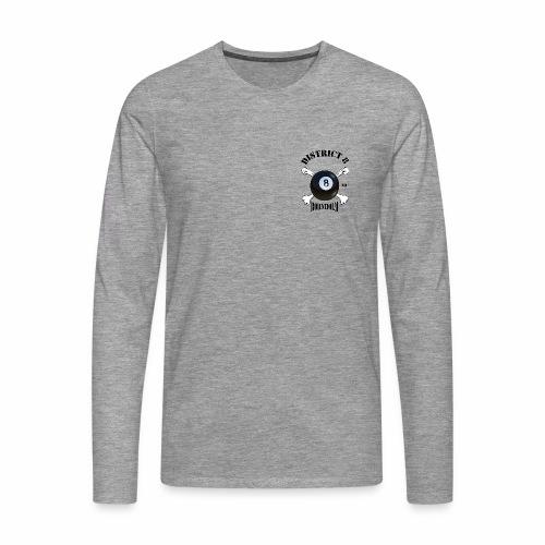 Distrikt_8 - Herre premium T-shirt med lange ærmer