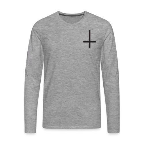 Cruz - Camiseta de manga larga premium hombre