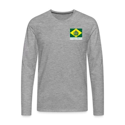 Brazil 200 years independence - Premium langermet T-skjorte for menn
