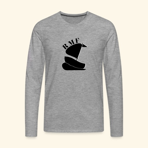 Rosen Marinförening - Långärmad premium-T-shirt herr