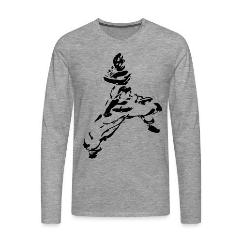 kungfu - Men's Premium Longsleeve Shirt