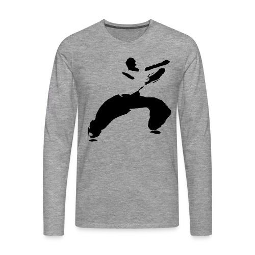 kung fu - Men's Premium Longsleeve Shirt