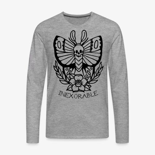 Traditional Tattoo Moth - Men's Premium Longsleeve Shirt