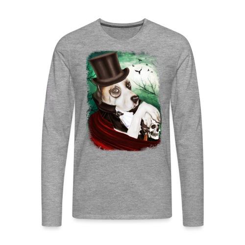Gothic Dog #1 - Maglietta Premium a manica lunga da uomo