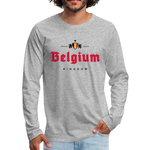 Bierre Belgique - Belgium - Belgie - T-shirt manches longues Premium Homme
