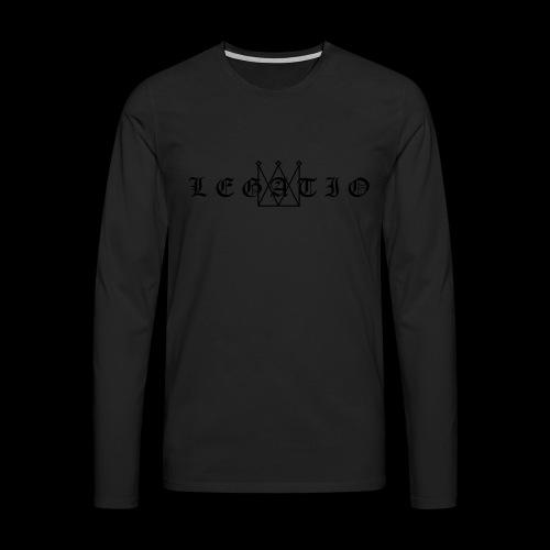 Legatio Fraktur - Men's Premium Longsleeve Shirt
