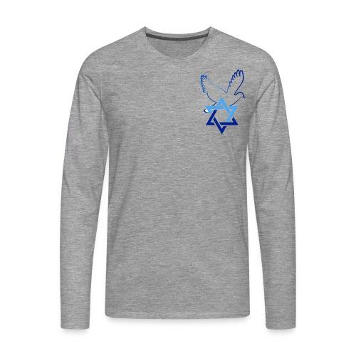 Shalom I - Männer Premium Langarmshirt