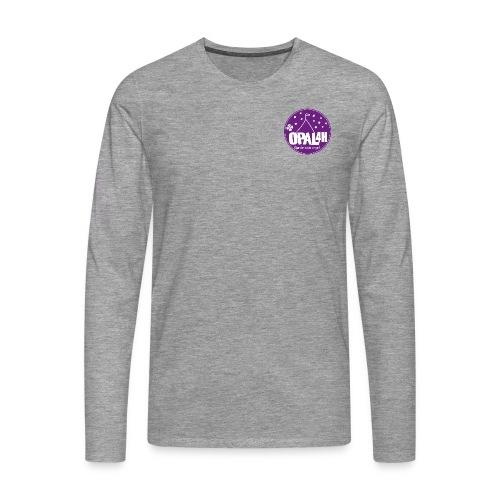 OPAL 4H Logo - Premium langermet T-skjorte for menn