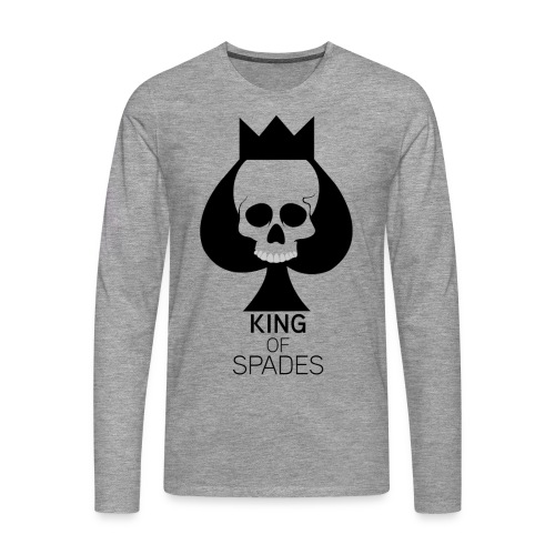 KING OF SPADES - T-shirt manches longues Premium Homme