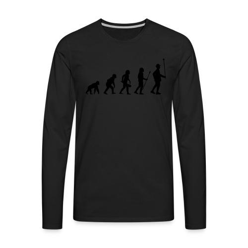 Stabführer Evolution - Männer Premium Langarmshirt