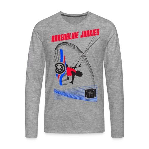 Adrenaline Junkies Light - Camiseta de manga larga premium hombre