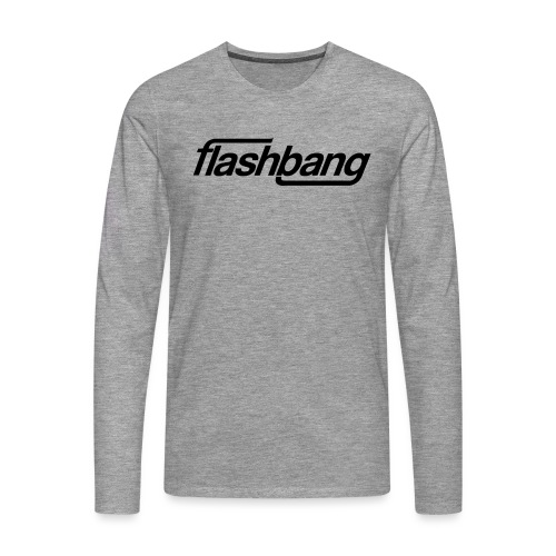 FlashBang Énkel - Utan Donation - Långärmad premium-T-shirt herr