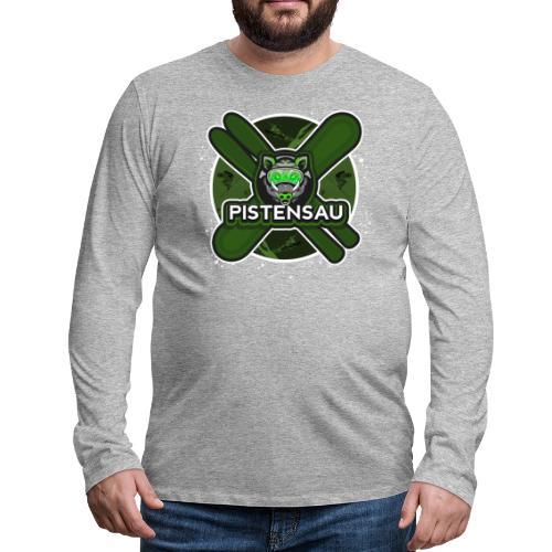 PistenSau NuClear - Männer Premium Langarmshirt