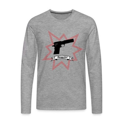 Gun with boom! - Men's Premium Longsleeve Shirt
