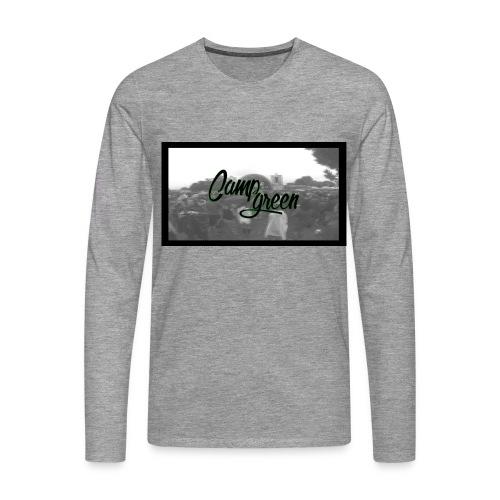 CampGreen Skyline - Männer Premium Langarmshirt