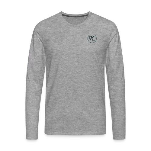 K-Logo - Männer Premium Langarmshirt
