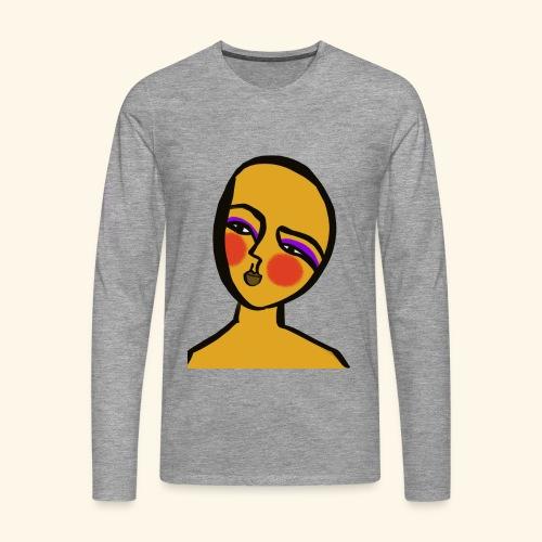 Hope - Långärmad premium-T-shirt herr