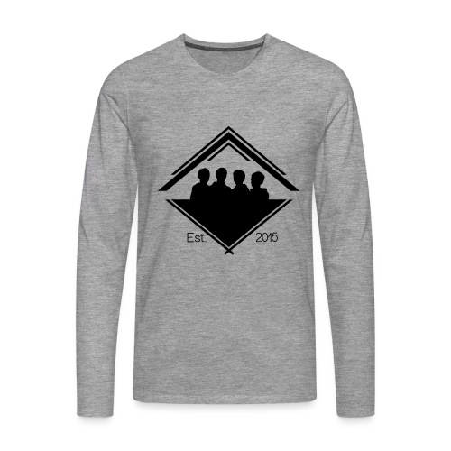 White Est. 2015 T-Shirt - Men's Premium Longsleeve Shirt