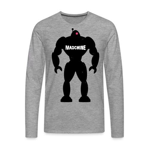 MASCHINE 2.0 - Männer Premium Langarmshirt
