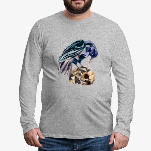 cubicraven - T-shirt manches longues Premium Homme