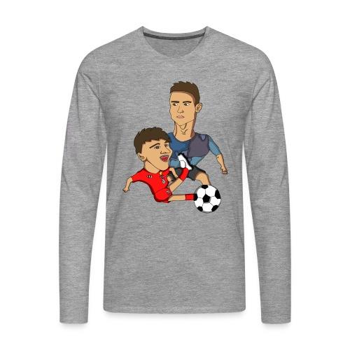 profilbilde gjennomsiktig cropped png - Premium langermet T-skjorte for menn