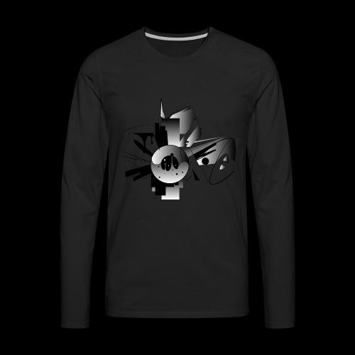 Sonic - Männer Premium Langarmshirt