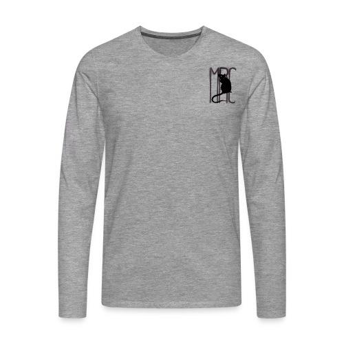 MRC Banksy rat black - Men's Premium Longsleeve Shirt