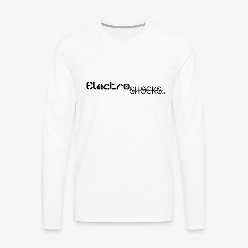 ElectroShocks BW siteweb - T-shirt manches longues Premium Homme