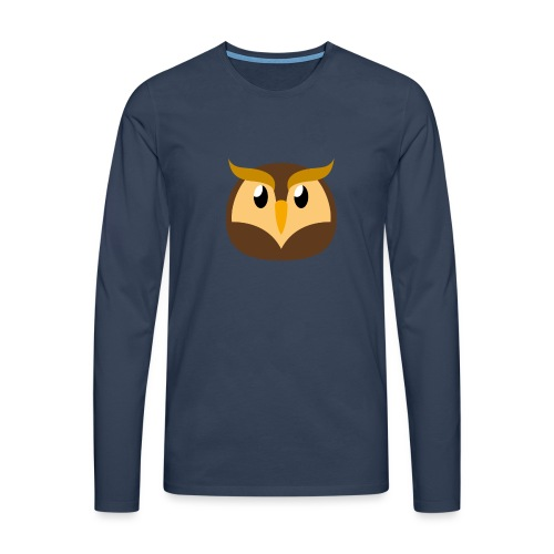 Eule »Schuhu« - Men's Premium Longsleeve Shirt