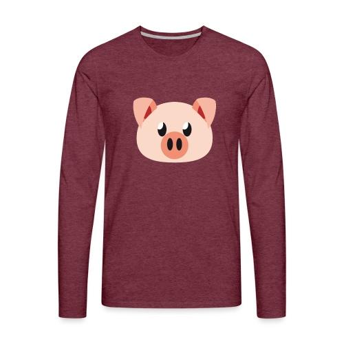 Schweinchen »Oink Oink« - Men's Premium Longsleeve Shirt