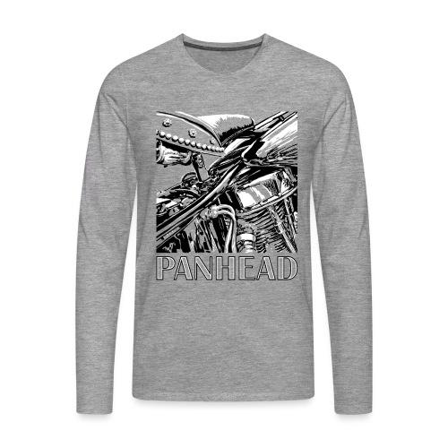 Panhead motordetail 04 - Mannen Premium shirt met lange mouwen