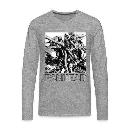 Panhead motordetail 02 - Mannen Premium shirt met lange mouwen