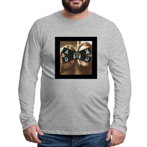 Asså Dom Hatar Dig - Långärmad premium-T-shirt herr