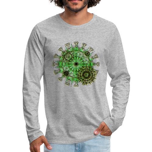 Virus 150220 ds. A - Men's Premium Longsleeve Shirt