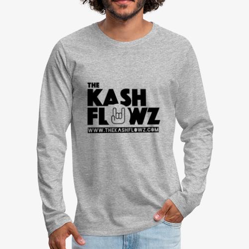 The Kash Flowz Official Web Site Black - T-shirt manches longues Premium Homme