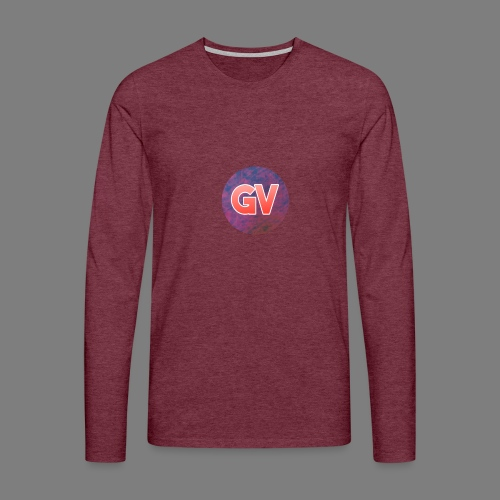 GV 2.0 - Mannen Premium shirt met lange mouwen