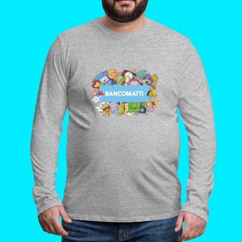 Bancomatti DOODLE 1 - Maglietta Premium a manica lunga da uomo