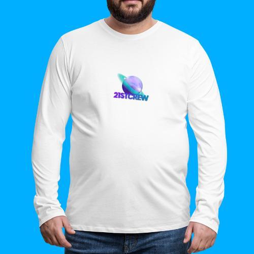 PurpleSaturn T-Shirt Design - Men's Premium Longsleeve Shirt
