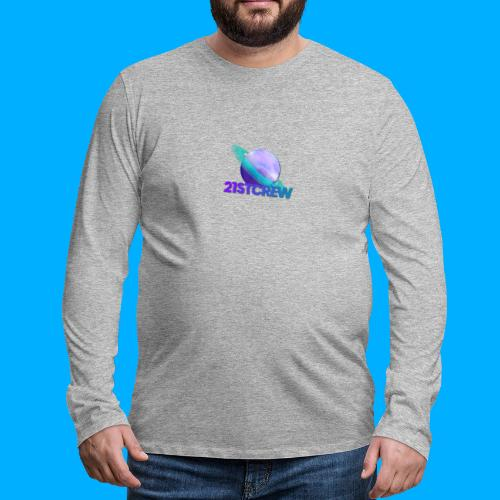 PurpleSaturn T-Shirt Design - Men's Premium Longsleeve Shirt