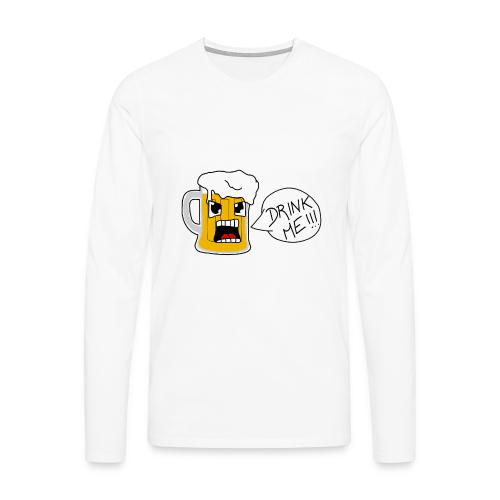 Bière - T-shirt manches longues Premium Homme