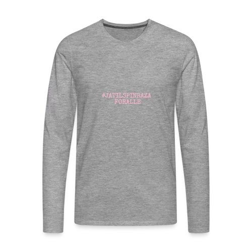 #jatilspinraza - rosa - Premium langermet T-skjorte for menn