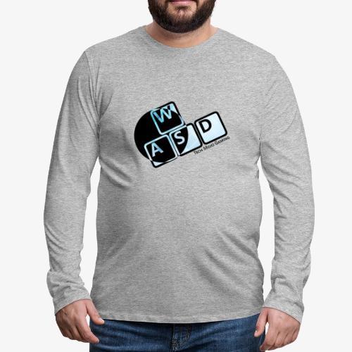 WASD TM Gaming - Men's Premium Longsleeve Shirt