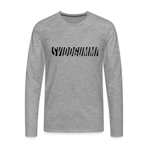 SG vintage t-shirt - Premium langermet T-skjorte for menn